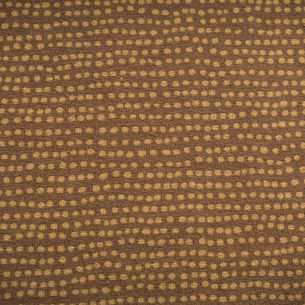 Biojersey Dotted Line taupe (GOTS)
