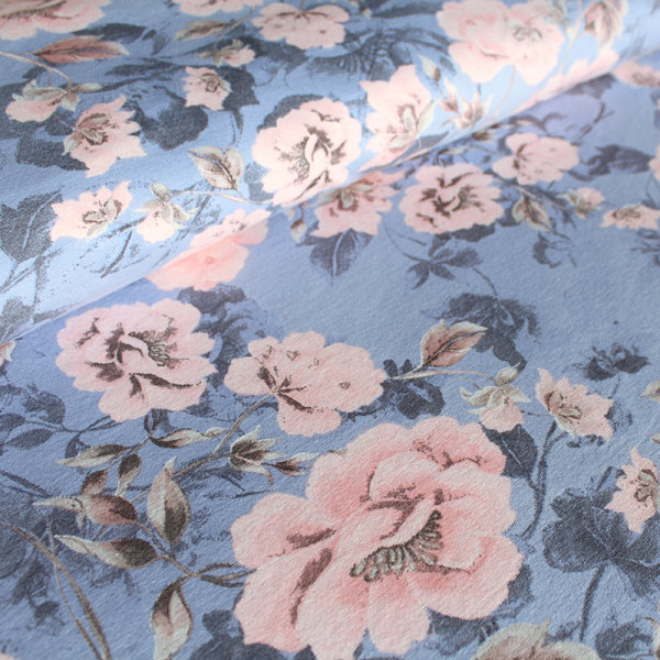 Tencel TM Lyocell Trootchy Flowers pastell