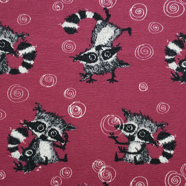 Biojersey Racoons Allover holunder