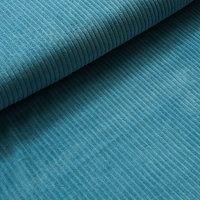 Organic Corduroy Nicky beach house blue