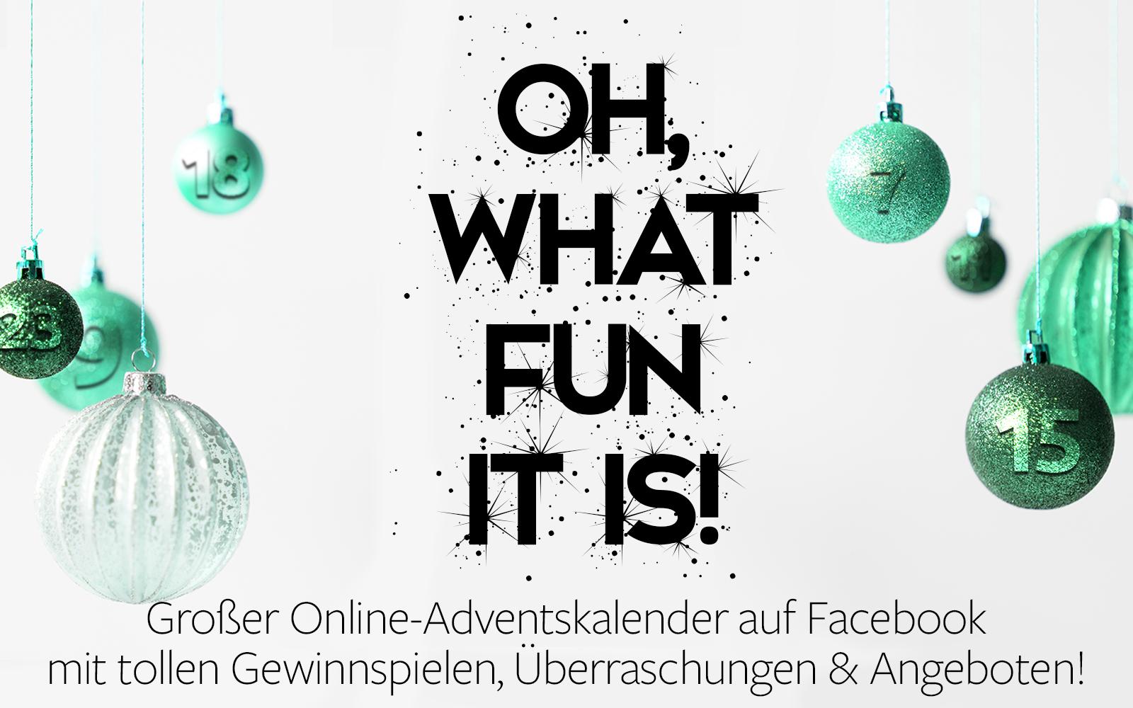 Großer Online-Adventskalender auf Facebook