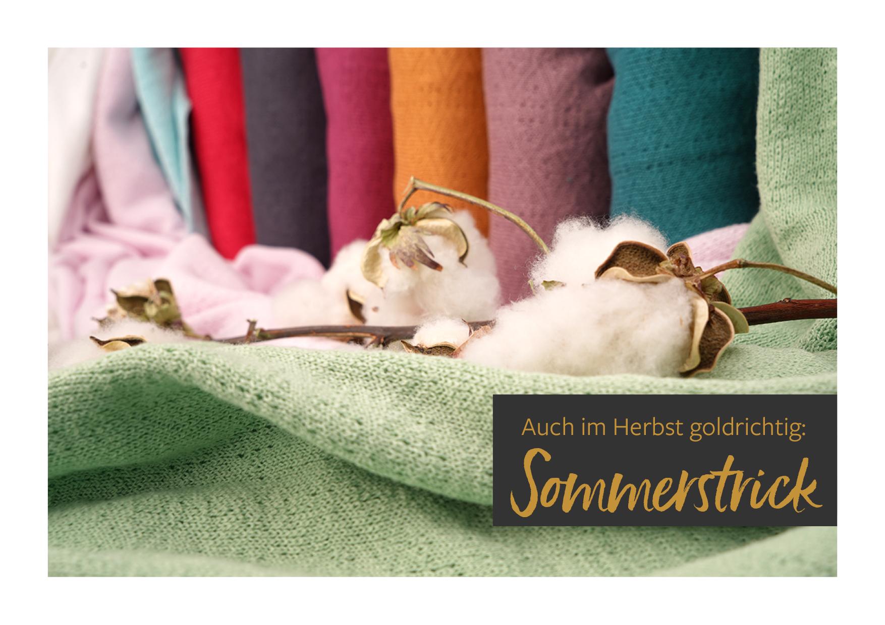 Stoffonkel Sommerstrick Mini-Lookbook